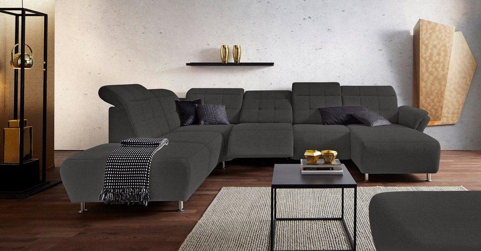 Couch mit elektrisch interesting couch elektrisch for Wohnlandschaft elektrisch ausfahrbar