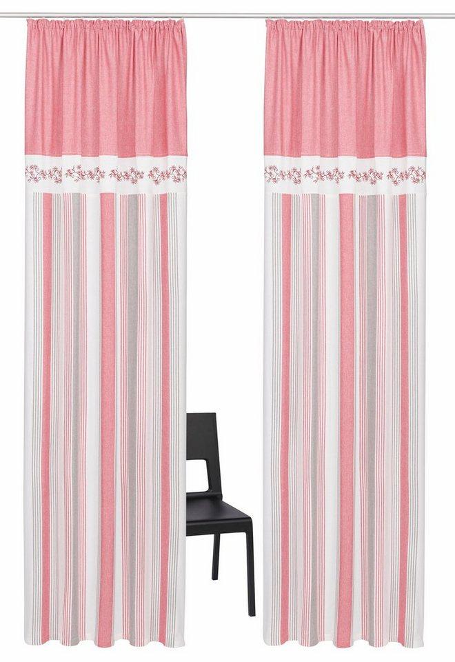 vorhang nemi home affaire kr uselband 2 st ck online kaufen otto. Black Bedroom Furniture Sets. Home Design Ideas