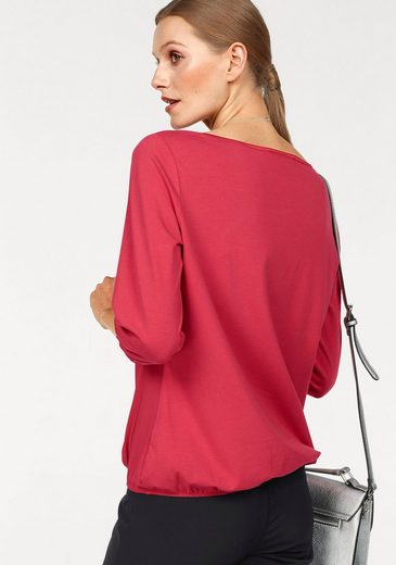 Betty Barclay Blusenshirt, Vorne Satin hinten Jersey