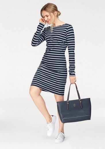 Tommy Jeans Kleid TJW BASIC STP DRESS L/S 15