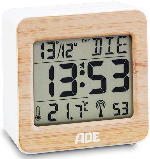 ADE Funkwecker »CK 1705« mit Temperaturanzeige