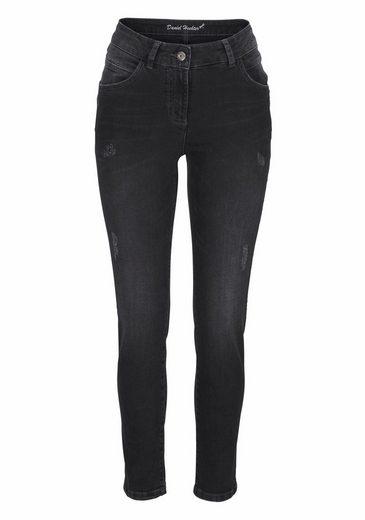 Daniel Hechter Slim-fit-Jeans, mit destroyed Effekten