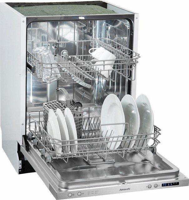 Küchengroßgeräte - Hanseatic vollintegrierbarer Geschirrspüler, WQP12 7711D, 11 l, 12 Maßgedecke  - Onlineshop OTTO