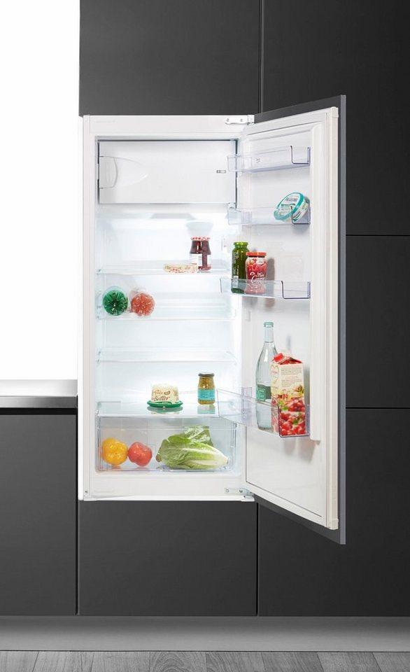 BEKO Einbaukühlschrank BSSA210K2S, 121,5 cm hoch, 54,5 cm breit ...