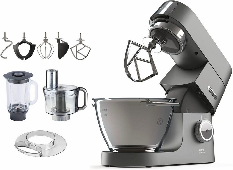 kenwood k chenmaschine chef titanium zubeh rpaket im wert von uvp 300 96 4 6 liter online. Black Bedroom Furniture Sets. Home Design Ideas