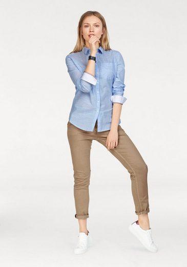 Tommy Jeans Bluse TJW BOYFRIEND FIT SHIRT L/S 15