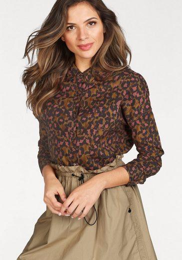 Scotch & Soda Hemdbluse, mit kleiner Brusttasche