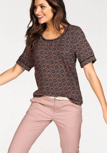 Scotch & Soda Shirt Blouse With Decorative Inserts