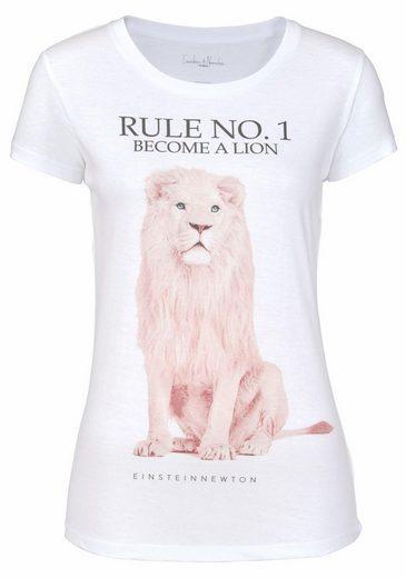 Einstein&Newton T-Shirt, mit großem Print vorne