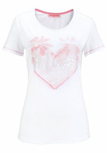 Frieda & Freddies Print-Shirt, mit Pailletten-Details
