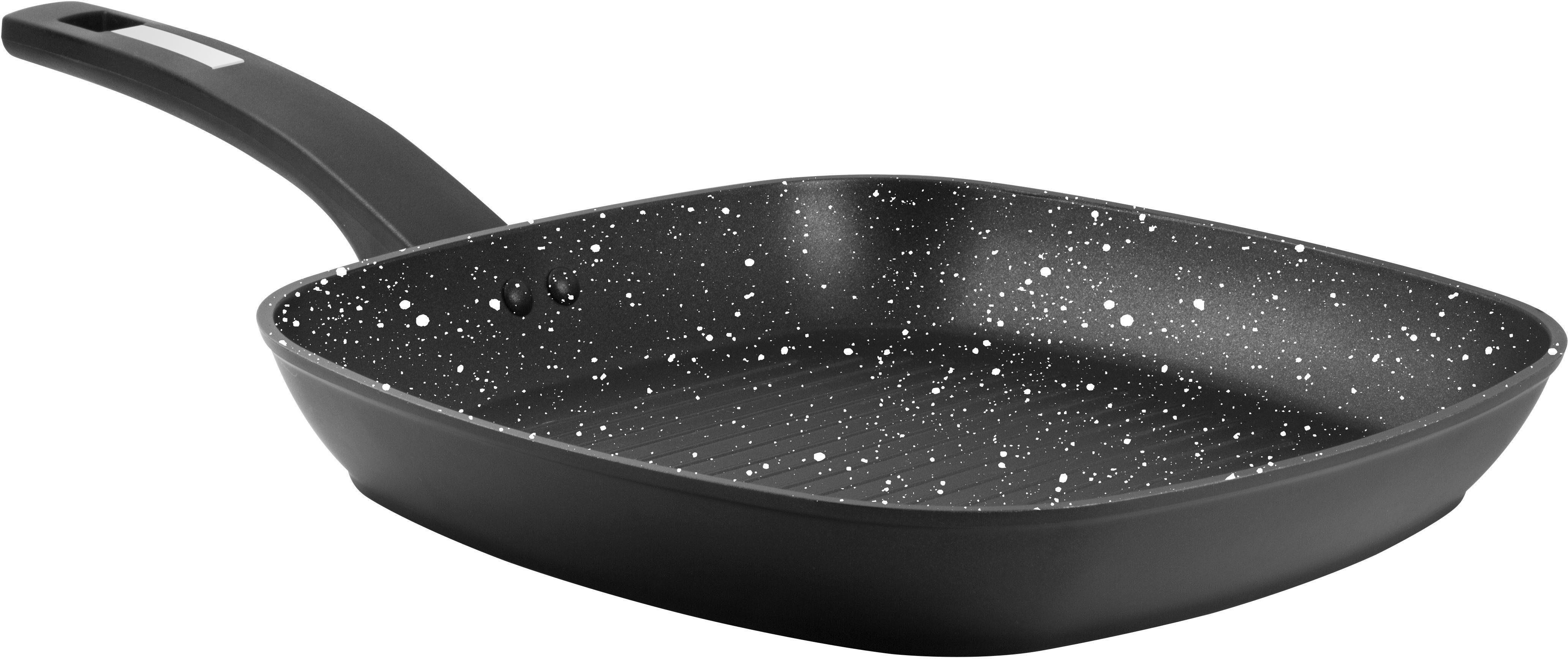 CS Kochsysteme by Carl Schmidt Sohn Steakpfanne, Ø 28 x 28 cm, Aluminium, Induktion, »Marburg«