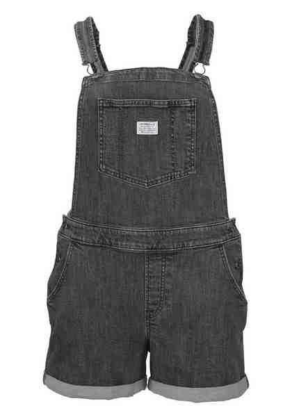 Levi's® Plus Latzhose »Plus Size Short Tail Bermuda« Kurze Latz-Jeans