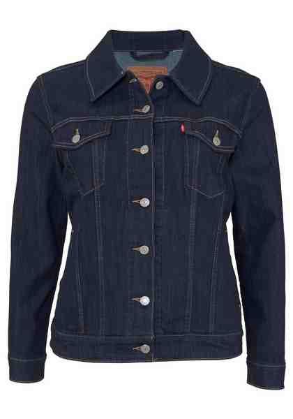 Levi's® Jeansjacke »Plus Size Trucker«, Plus Size Jeans Jacket
