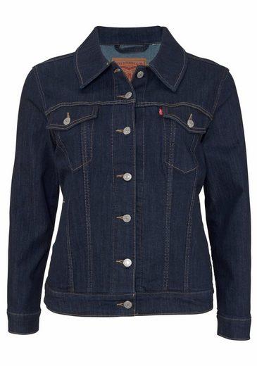 Levi's® Jeansjacke Levis Jacket Trucker, Plus Size Jeans Jacket