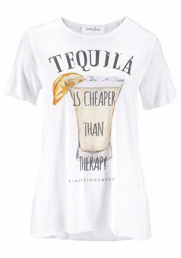 Einstein & Newton T-shirt With Large Front Print