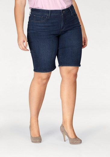 Levi's® Shorts PL Shaping Bermuda, Pefect Fit Denim