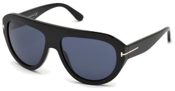 Tom Ford Herren Sonnenbrille » FT0589«, schwarz, 01V - schwarz/blau