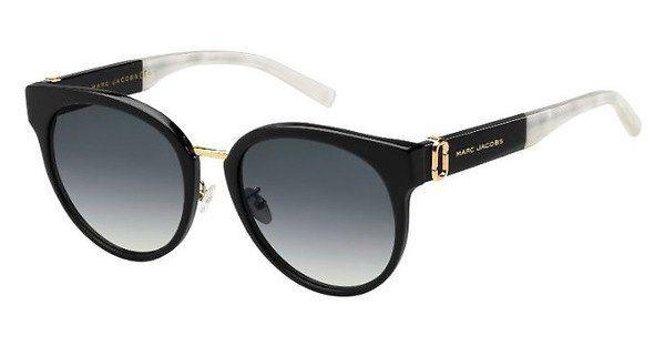MARC JACOBS Marc Jacobs Damen Sonnenbrille » MARC 162/S«, schwarz, 807/9O - schwarz/grau