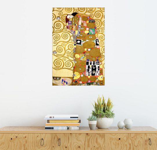 Posterlounge Wandbild - Gustav Klimt »Der Lebensbaum (Die Erfüllung)«