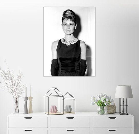 Posterlounge Wandbild »Audrey Hepburn in Frühstück bei Tiffany«