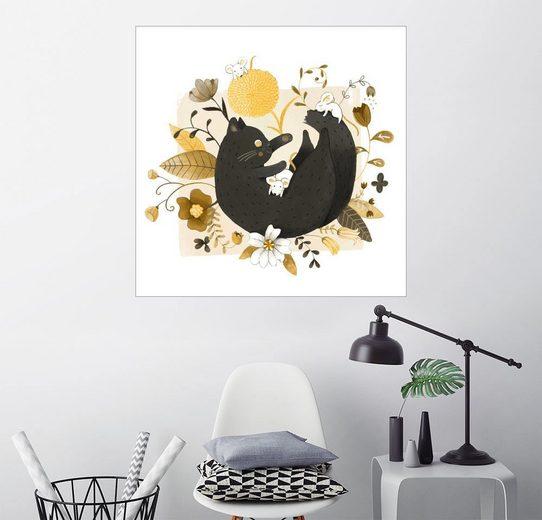 Posterlounge Wandbild - Judith Loske »Happy Together«