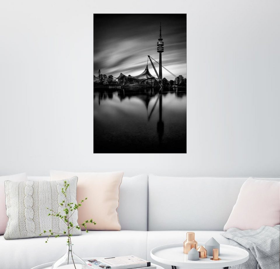 posterlounge wandbild muxpix olympiapark m nchen online kaufen otto. Black Bedroom Furniture Sets. Home Design Ideas
