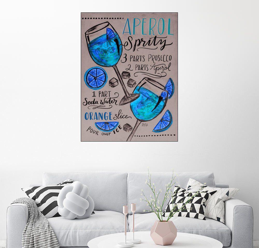 Posterlounge Wandbild - Lily & Val »30474 aperolaspritz«