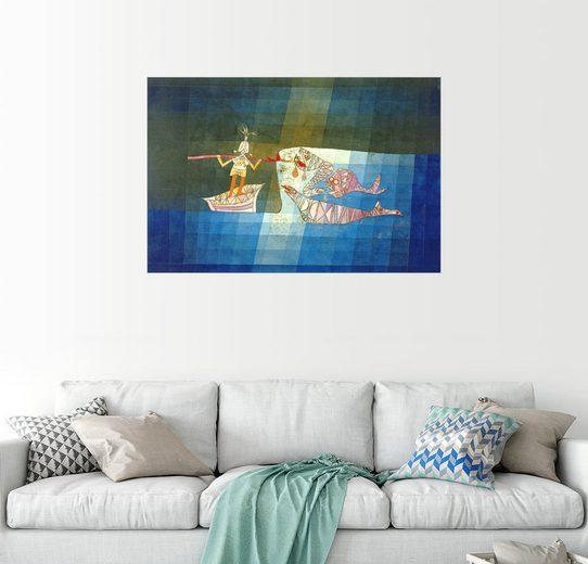 Posterlounge Wandbild - Paul Klee »Sindbad, der Seefahrer«