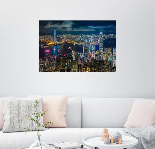 Posterlounge Wandbild - Tom Uhlenberg »HONGKONG 10«