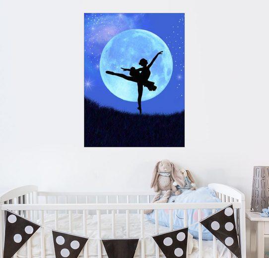 Posterlounge Wandbild - Alixandra Mullins »Ballerina Blaumond«