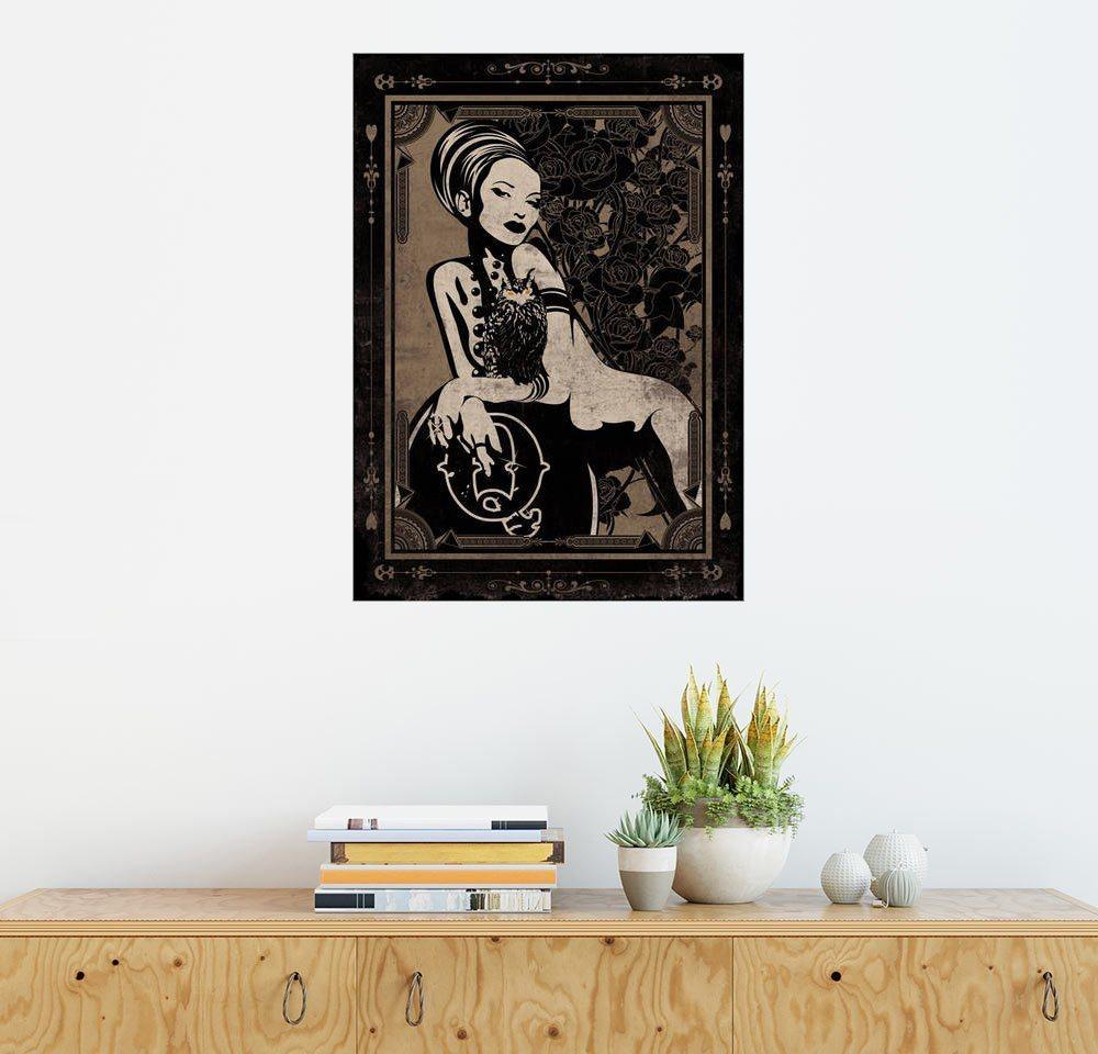 Posterlounge Wandbild - dolceQ »Athena«