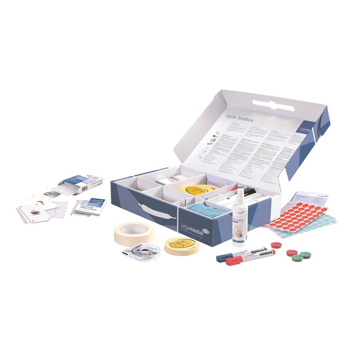 LEGAMASTER Moderationskoffer 7-125400 »Agile Toolbox«