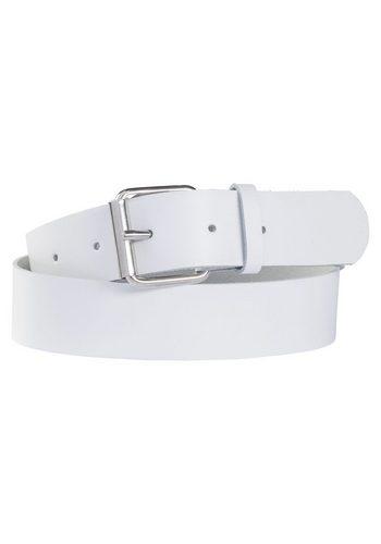 Damen sheego Accessoires Ledergürtel weiß   04054697839357