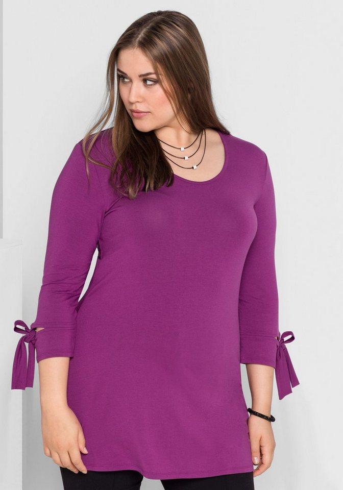 sheego Style Longshirt | Bekleidung > Shirts > Longshirts | Rosa | sheego Style