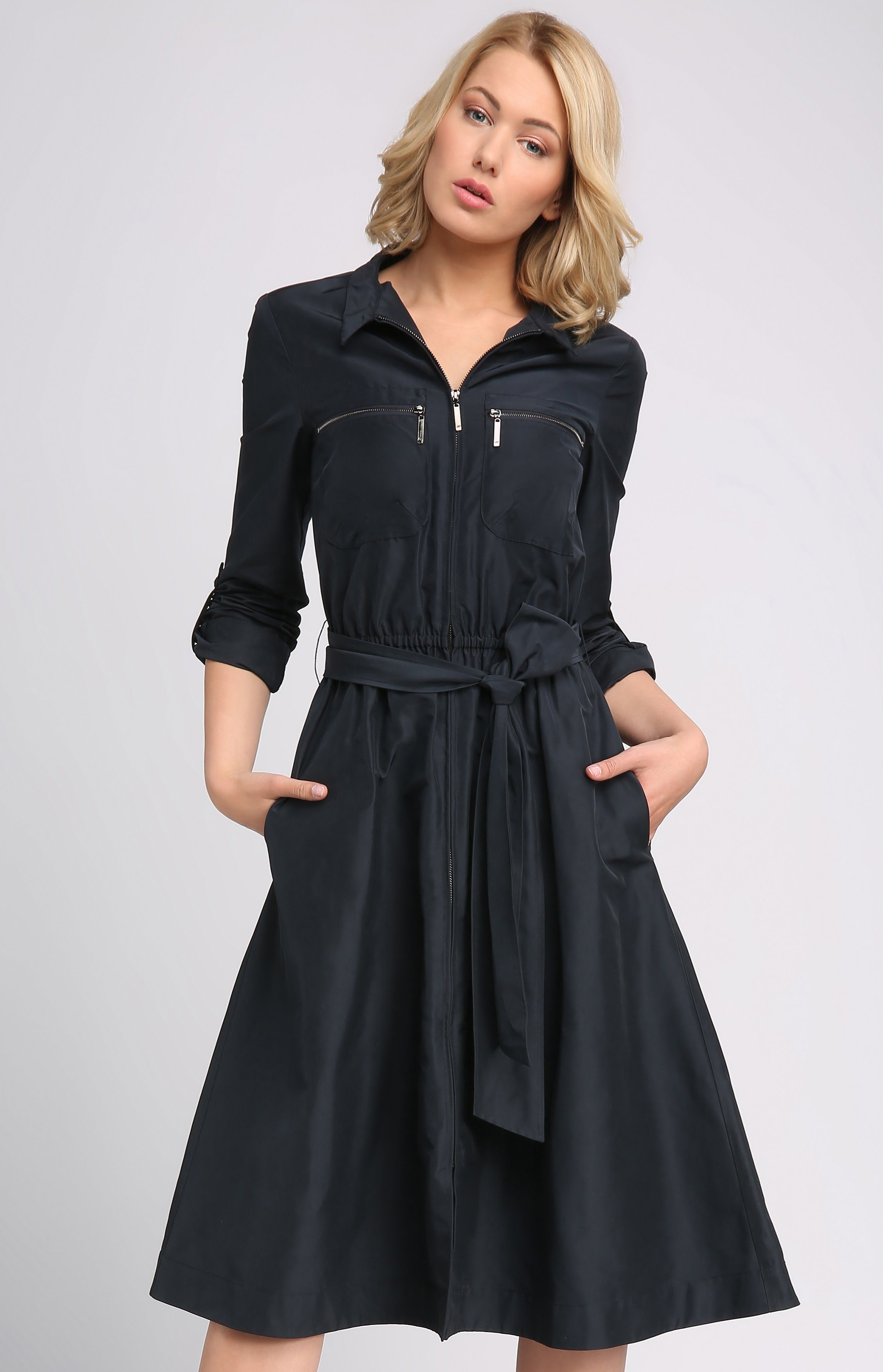 Apart Trenchcoat-Kleid   Bekleidung > Mäntel > Trenchcoats   Polyester   Apart
