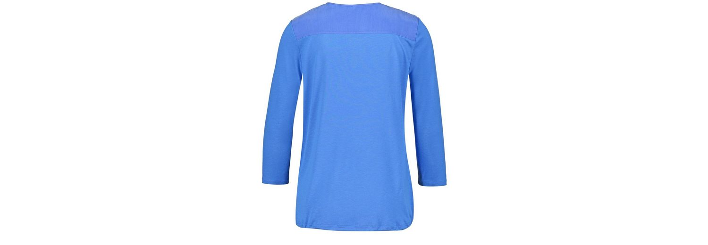 Gerry Weber T-Shirt 3/4 Arm 3/4 Arm Shirt mit Wickeleffekt Billige Neueste b3i1i