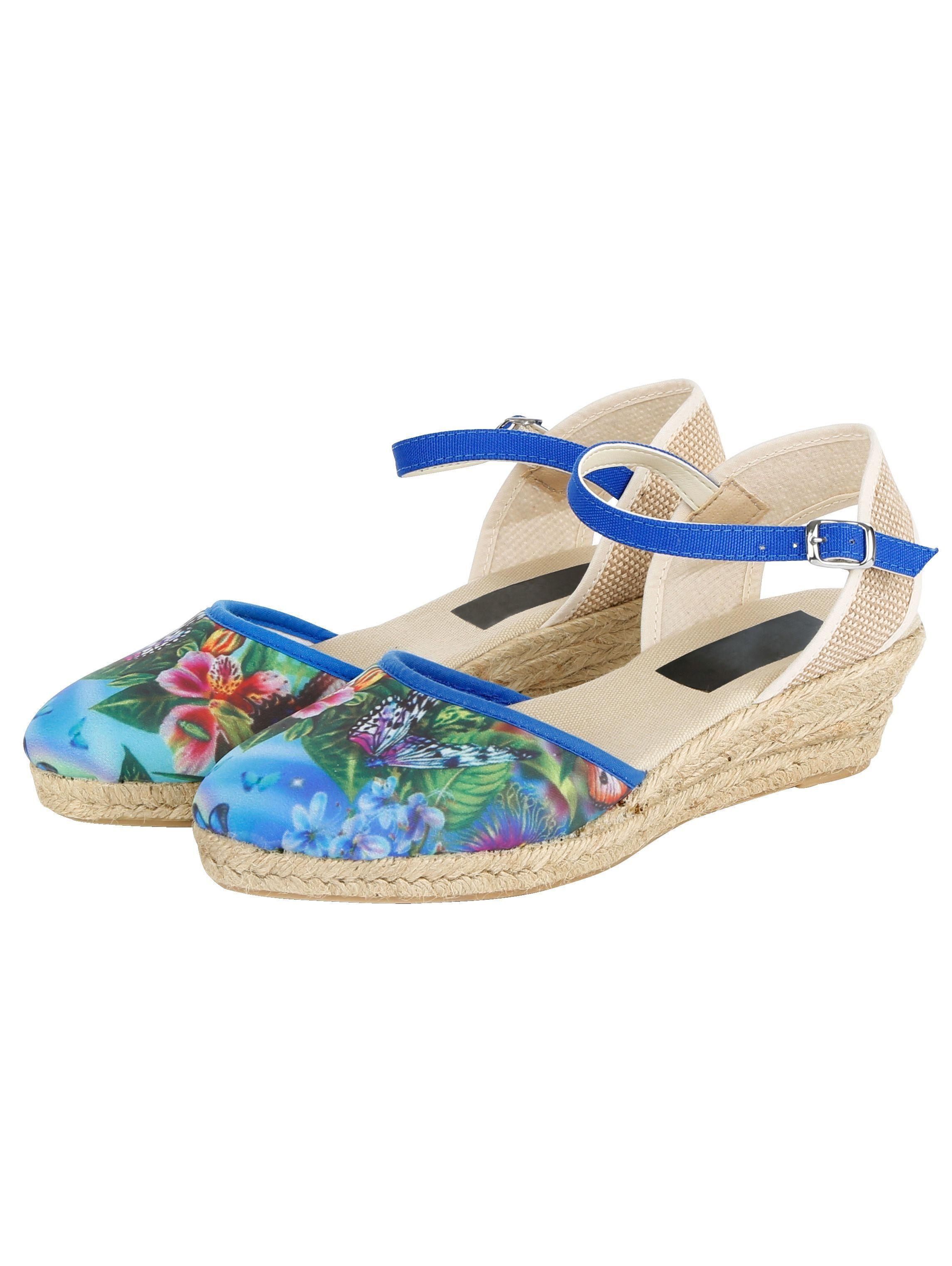 Naturläufer Sandalette online kaufen  floral