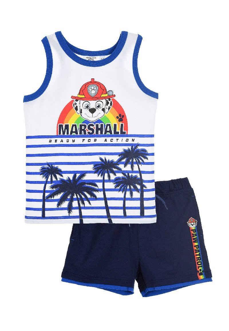 PAW PATROL T-Shirt & Shorts »Marshall Tank-Top Bekleidungs-Set« Shorty