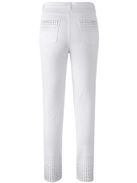 Hosen - creation L 5 Pocket Jeans › weiß  - Onlineshop OTTO