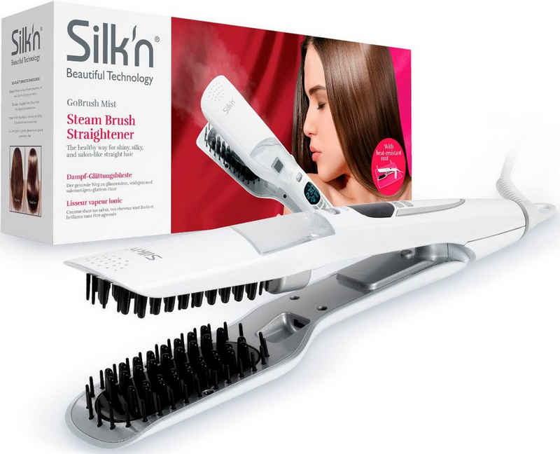 Silk'n Haarglättbürste GoBrush Mist, Dampf-Glättungsbürste