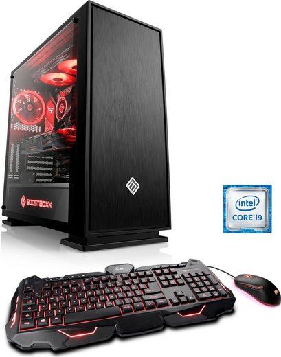 CSL HydroX T9334 Gaming-PC (Intel Core i9 9900KF, RTX 3070, 32 GB RAM, 1000 GB SSD, Wasserkühlung)