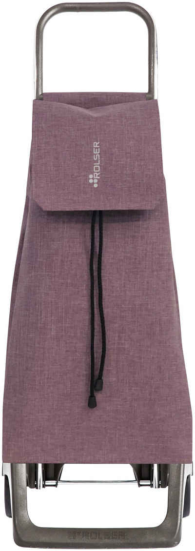 Rolser Einkaufstrolley »Joy Jet Tweed«, 40 l, mit 2 Rädern, Tasche abnehmbar
