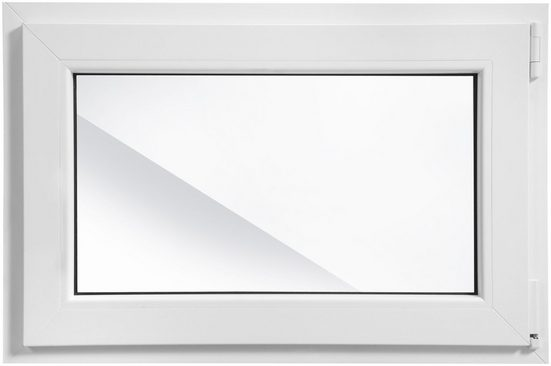 RORO Kunststoff-Fenster »Classic 400«, BxH: 90x60 cm, weiß, in 2 Varianten