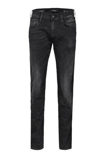Replay Stretch-Jeans »11.5 Oz Hyperflex Black Stretch Denim«