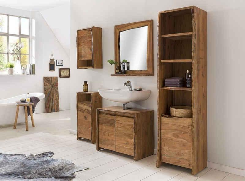 Kasper-Wohndesign Badezimmer-Set »Loft Edge«, (ein Badezimmerset wie abgebildet)