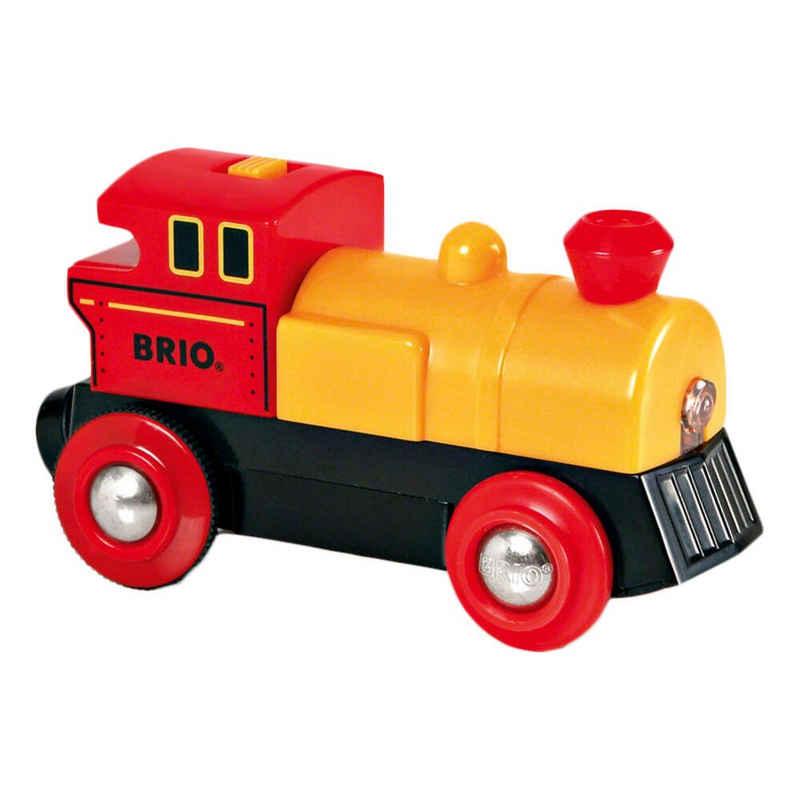 BRIO® Spielzeugeisenbahn-Lokomotive »Gelb«