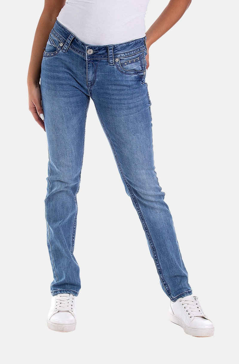 Blue Monkey Slim-fit-Jeans »Stacy« (1-tlg)