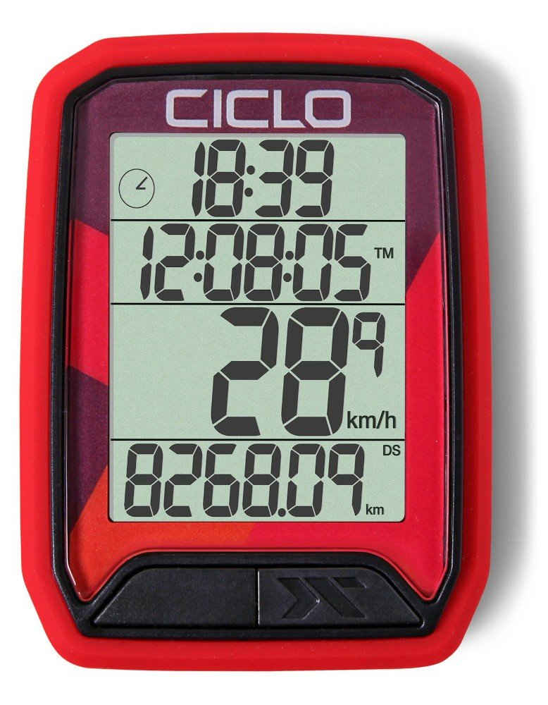 Ciclosport Fahrradcomputer »Ciclosport Protos 213 Funk Fahrradcomputer Fahrradtacho 4 Zeilen Display«