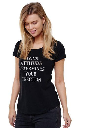 Decay T-Shirt mit coolem Schriftzug