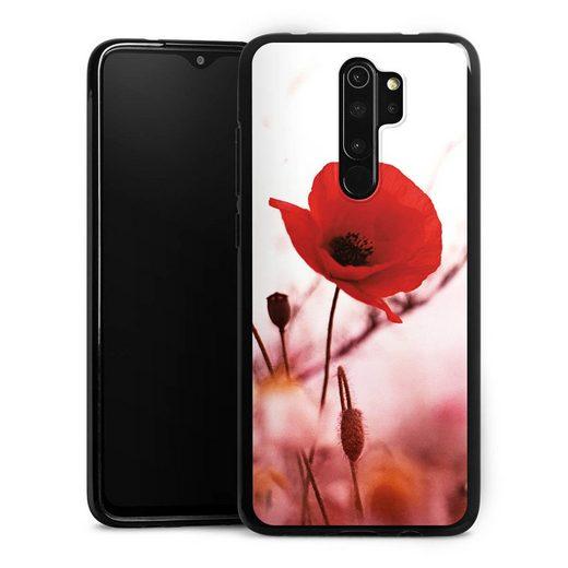 DeinDesign Handyhülle »Red Flowers« Xiaomi Redmi Note 8 Pro, Hülle Blume Mohnblume Sommer
